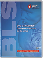 Spanish BLS Healthcare Provider DVD 2010