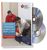 Heartsaver® First Aid CPR AED DVD Set (Spanish)