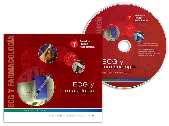 ECG & Pharmacology Instructor CD (Spanish)